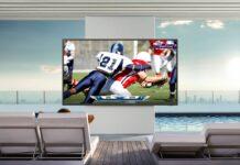 Samsung presenta ufficialmente The Terrace, la TV progettata per ambienti esterni