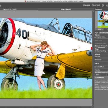 AKVIS Sketch 23.5 per Mac e PC: disegni a matita partendo dalle foto