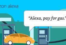 Alexa paga il pieno dell'auto in 11.500 distributori
