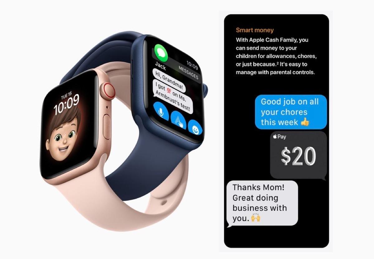 Con Apple Cash Family la paghetta arriva su Apple Watch