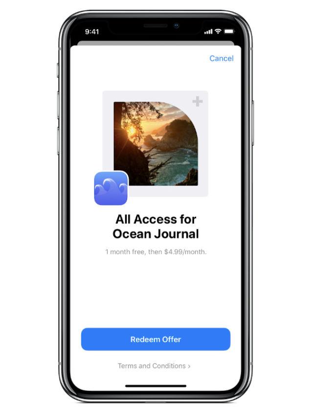 Apple annuncia i codici offerta per gli abbonamenti per iPhone e iPad