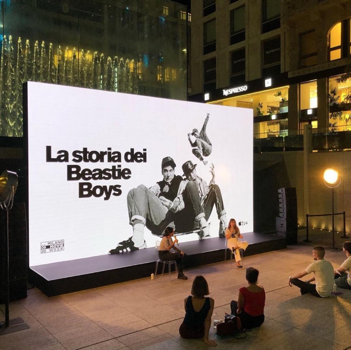 Apple Piazza Liberty diventa cinema all'aperto per Milano MovieWeek