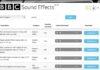 16.000 effetti sonori della BBC disponibili per il download grautito
