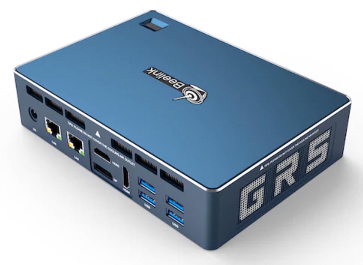 Beelink GT-R, il mini PC con sensore per la scansione delle impronte digitali