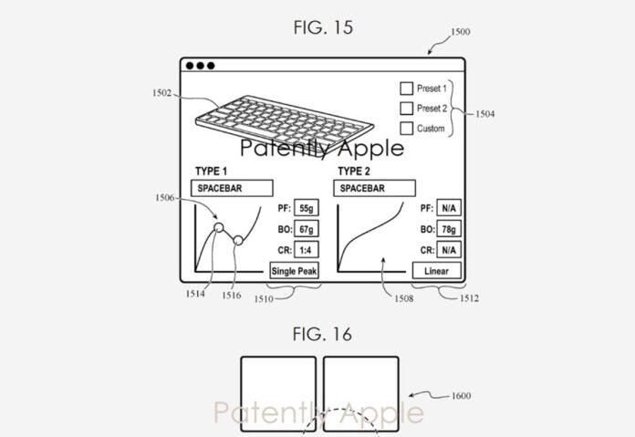 Apple ha brevettato una tastiera smart con livelli di pressione personalizzabili