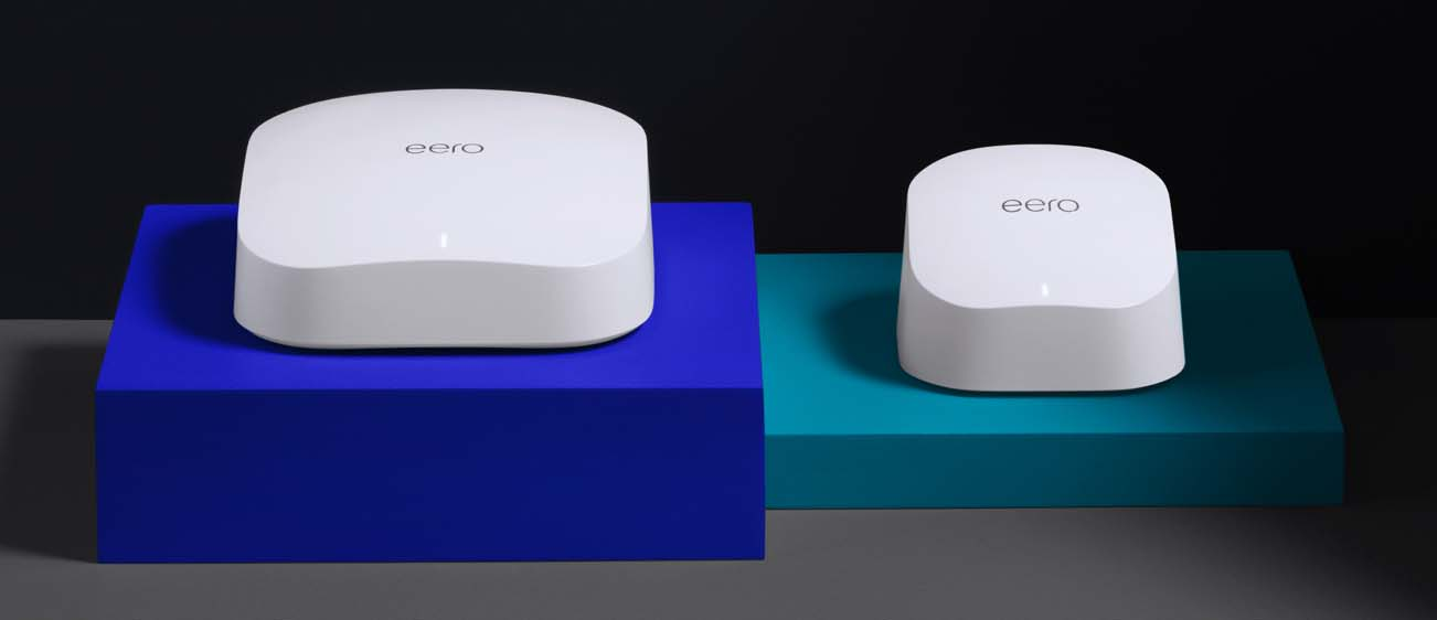 I nuovi router mesh Eero di Amazon supportano il WiFi 6