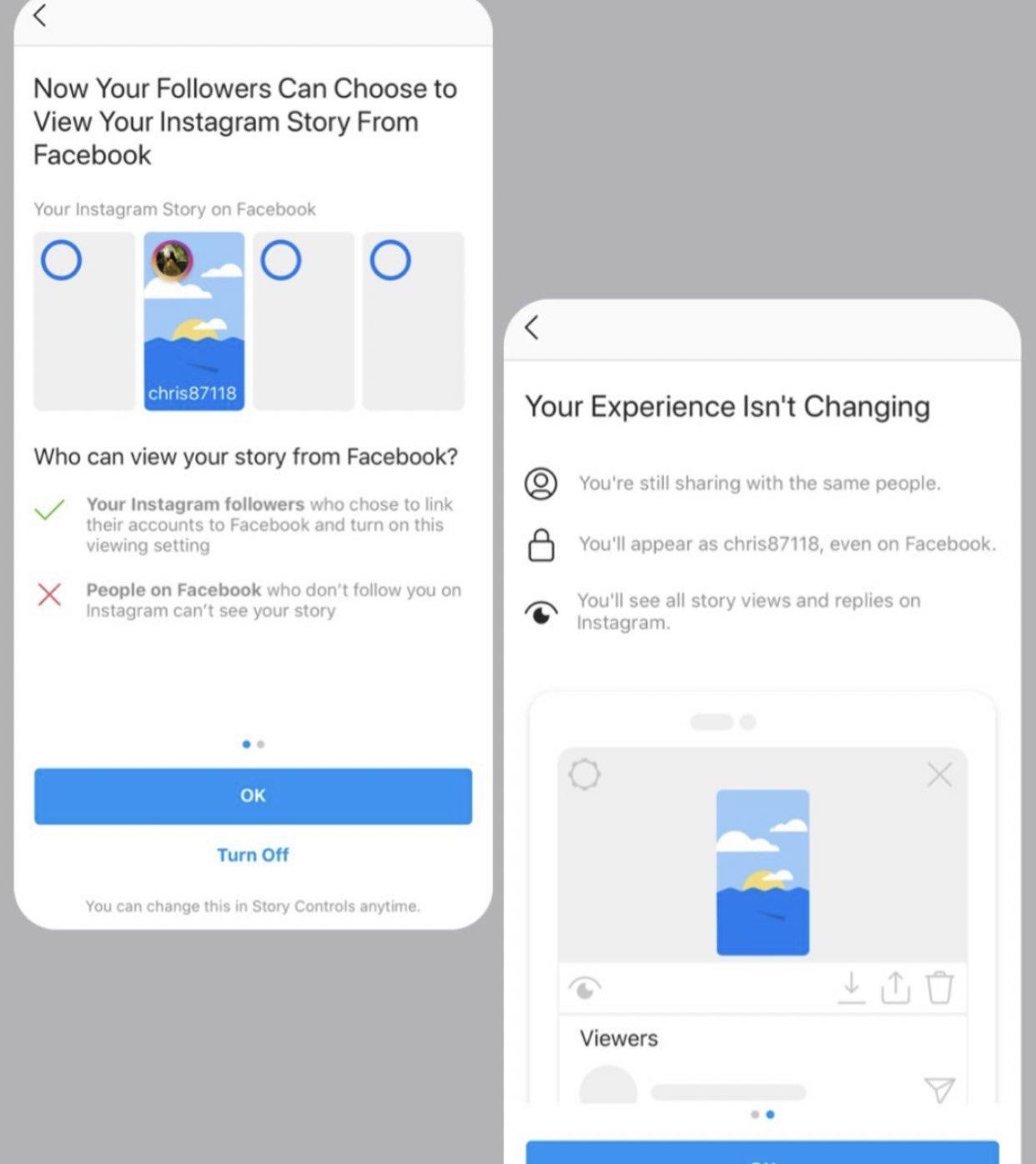 Alcuni utenti di Facebook iniziano a visualizzare le storie di Instagram