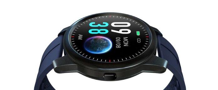 ELEPHONE R8, l'elegante smartwatch circolare a 28,37 euro con codice sconto