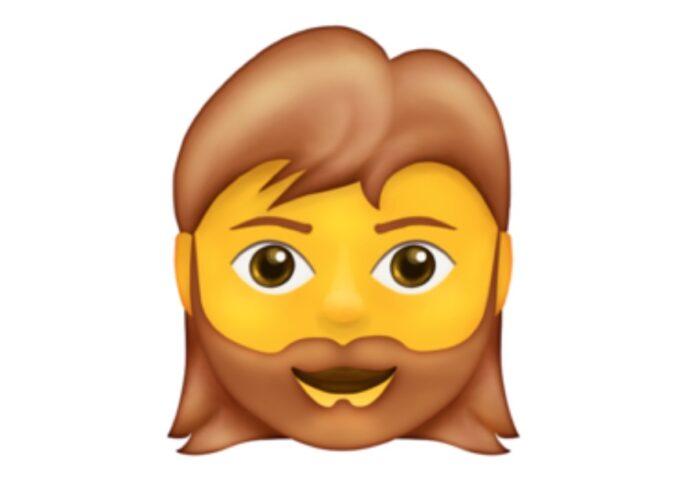 Nel 2021 avremo l'emoji della donna con la barba