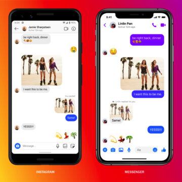 Facebook unisce i messaggi di Messenger e Instagram