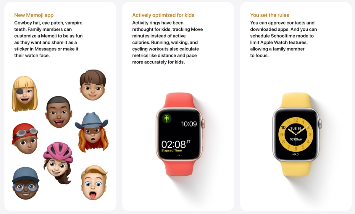 Family Setup, ecco come Apple Watch diventa accessibile a tutta la famiglia