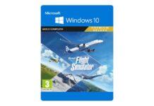 Volare negli ambienti degli sfondi di macOS con Flight Simulator di Microsoft