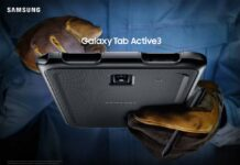 Samsung Galaxy Tab Active3 è un nuovo tablet progettato per resistere in ambienti difficili