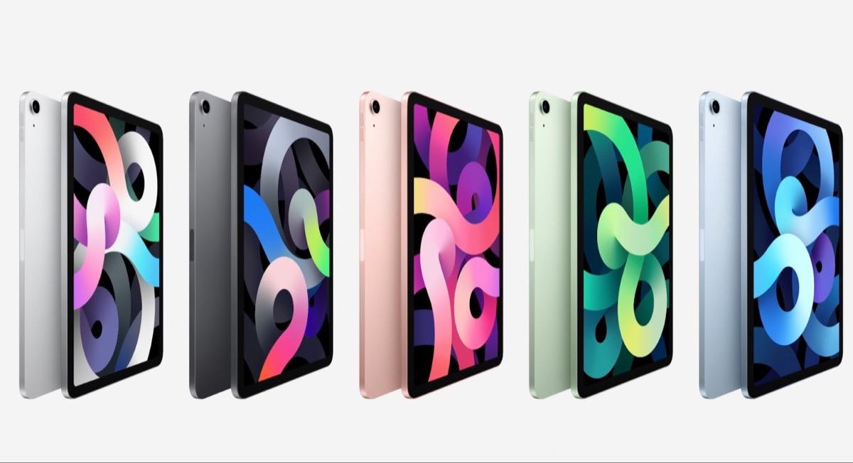 iPad Air prende il design di iPad Pro, ma con più colori a disposizione