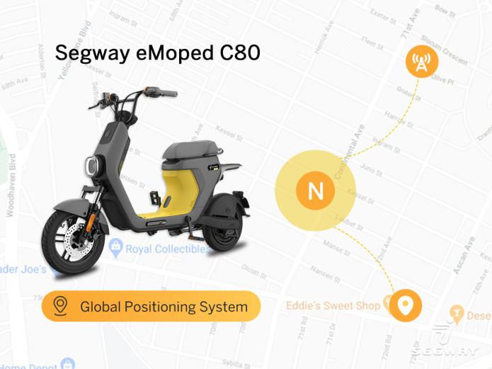 Segway eMoped C80: la prima Smart eBike di Segway disponibile su IndieGoGo