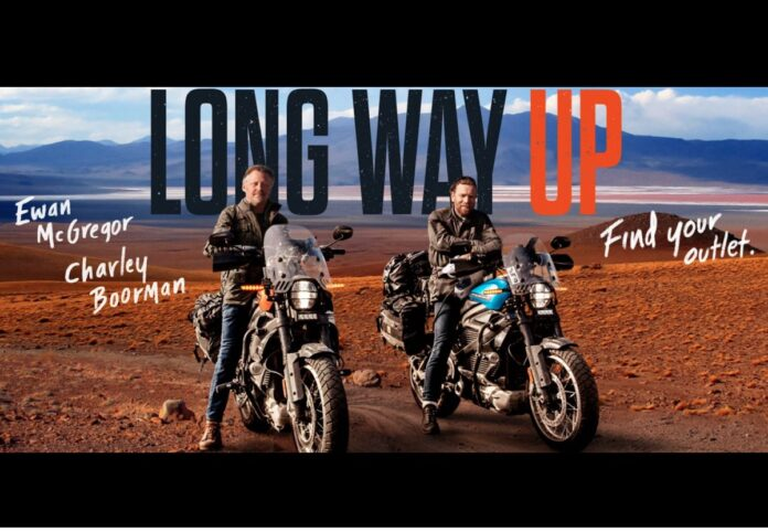 """""""Long Way Up"""", il viaggio di Ewan McGregor e Charles Boorman è su Apple TV+"""