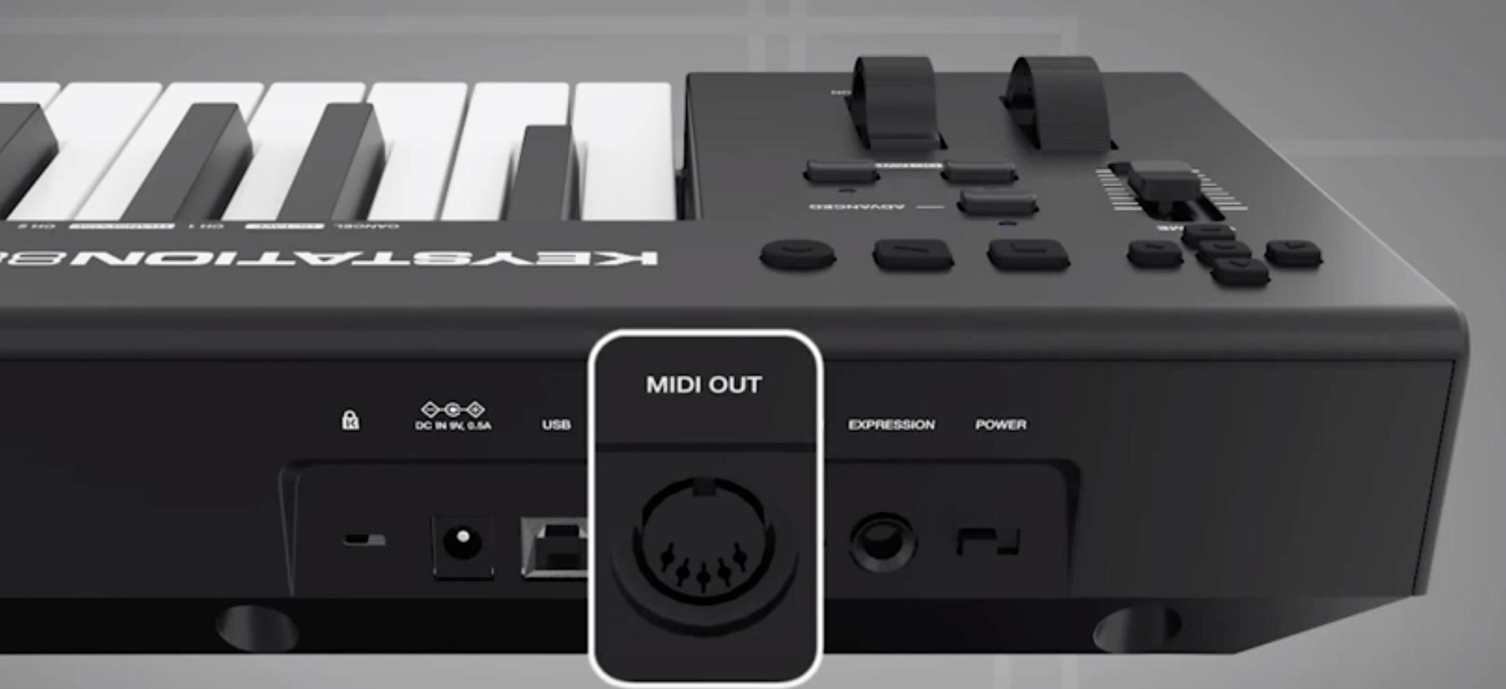 M-Audio Keystation 88 MK3, tasti semipesati per la master Keyboard MIDI/USB
