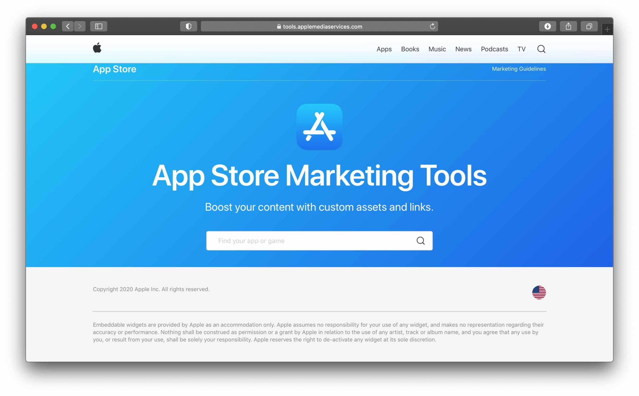 Nuovi tool di marketing da Apple per gli sviluppatori