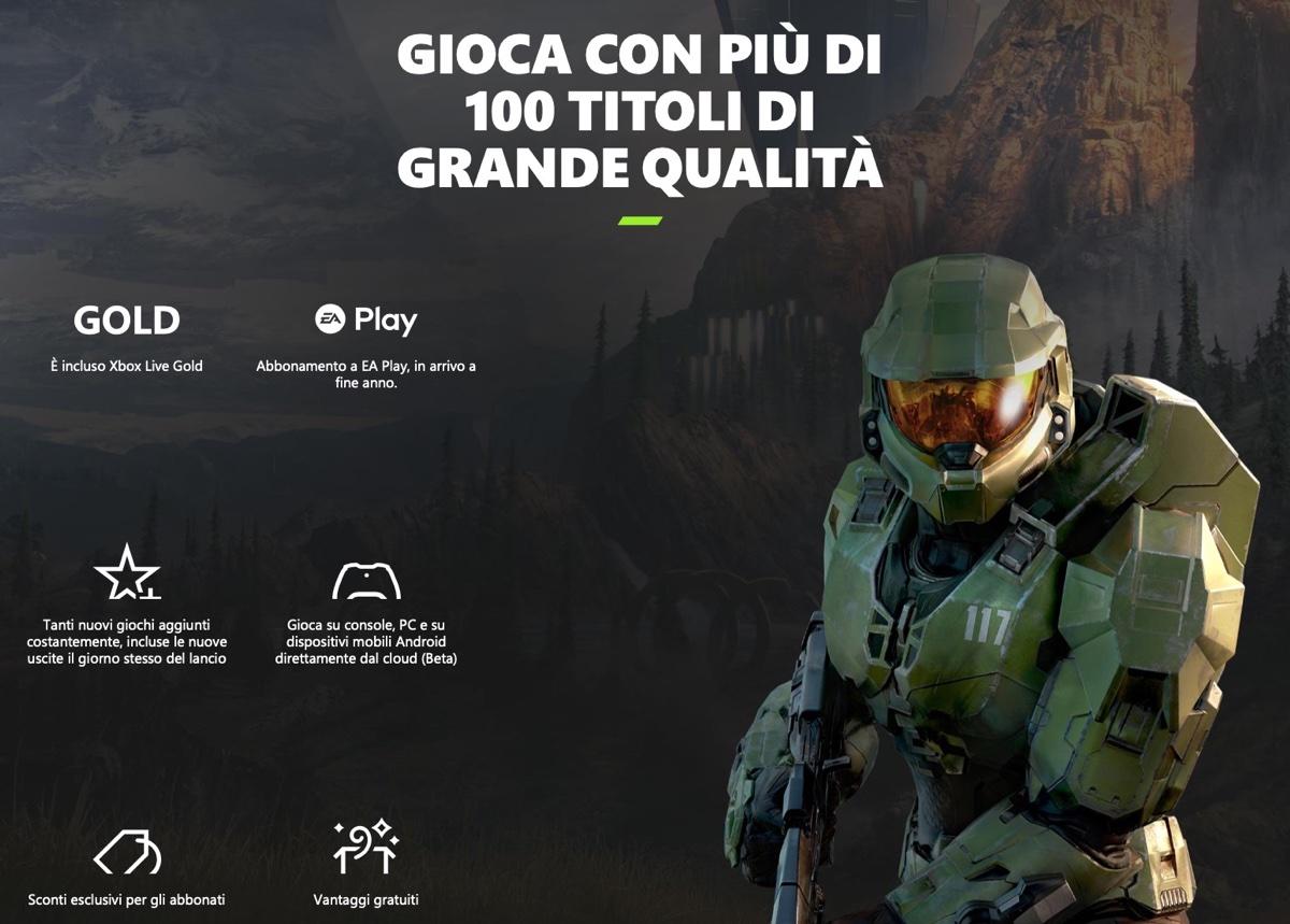 Microsoft xCloud arriva in Italia con oltre 150 giochi