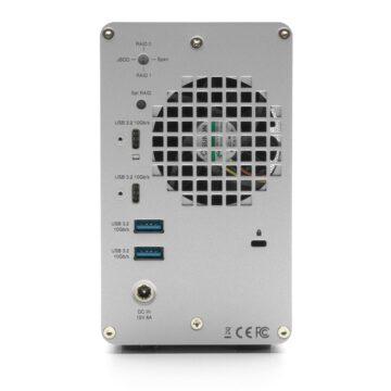 OWC Mercury Elite Pro è un box per HDD/SSD con hub a 3 porte