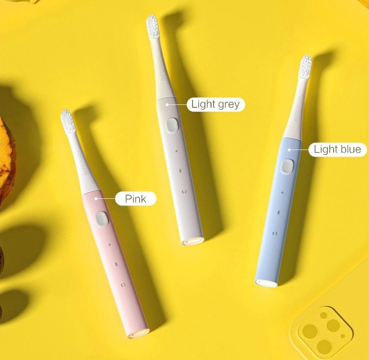 Solo 6 € lo spazzolino elettrico sonico PT01 DuPont di Xiaomi youpin