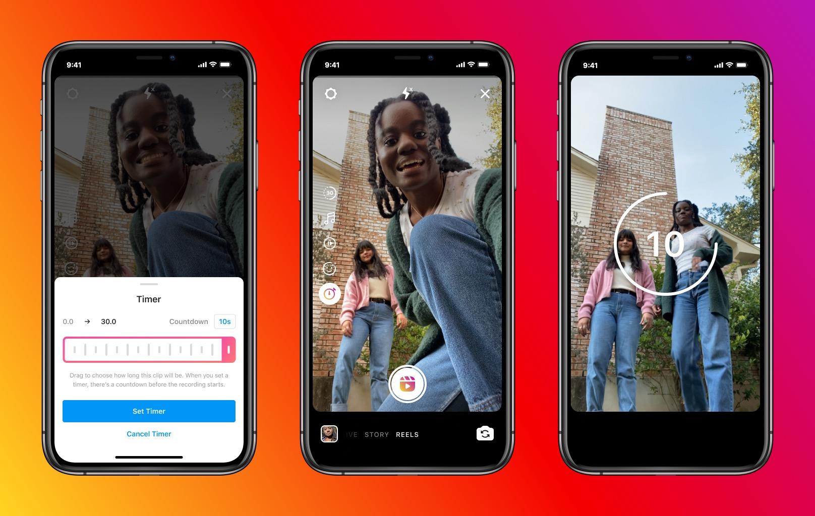 Instagram Reels si aggiorna, video più lunghi e altre novità