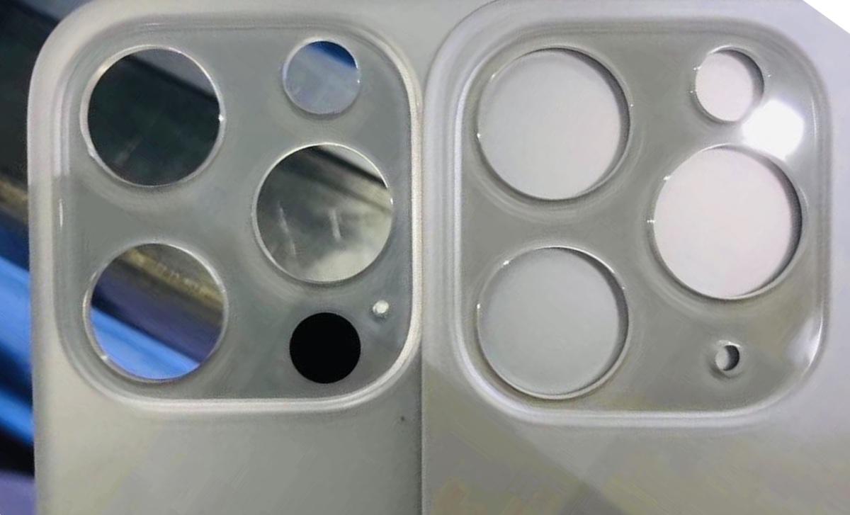 Il retro di iPhone 12 mostra la disposizione di fotocamere e LiDAR