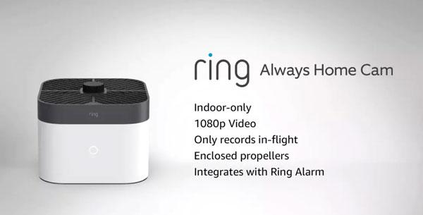 Ring Always Home Cam, il drone-guardiano che gira per casa