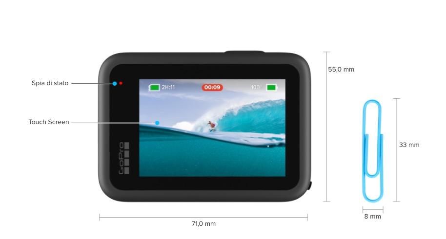 Disponibile GoPro Hero 9 con secondo schermo a colori, video 5K a partire da 378,98 euro