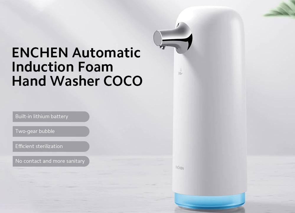 ENCHEN COCO è il distributore di sapone touchless a18,91 con codice sconto