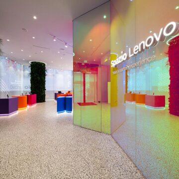 A Milano il primo concept store europeo di Lenovo