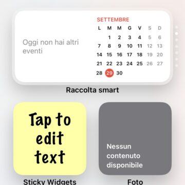I post-it digitali arrivano sulla home di iPhone grazie ad un widget per iOS 14