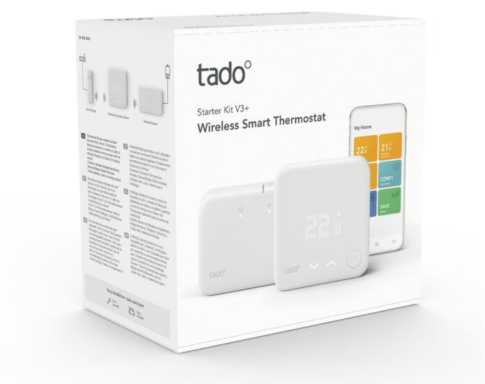 Termostati smart e valvole tado° più intelligenti con nuovi kit e sensori