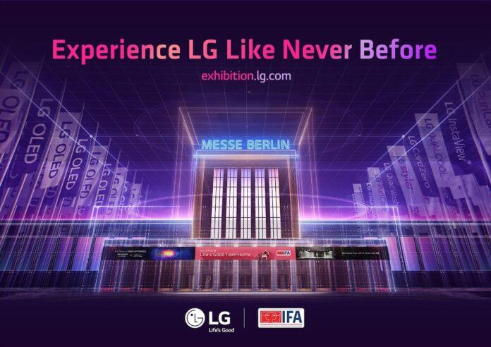 IFA 2020, LG inaugura lo stand virtuale
