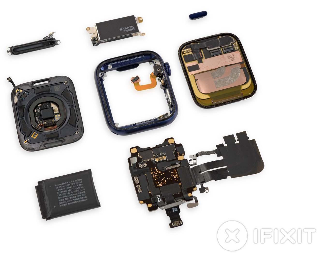 Apple Watch Series 6 smontato: lo schermo si puà sostituire