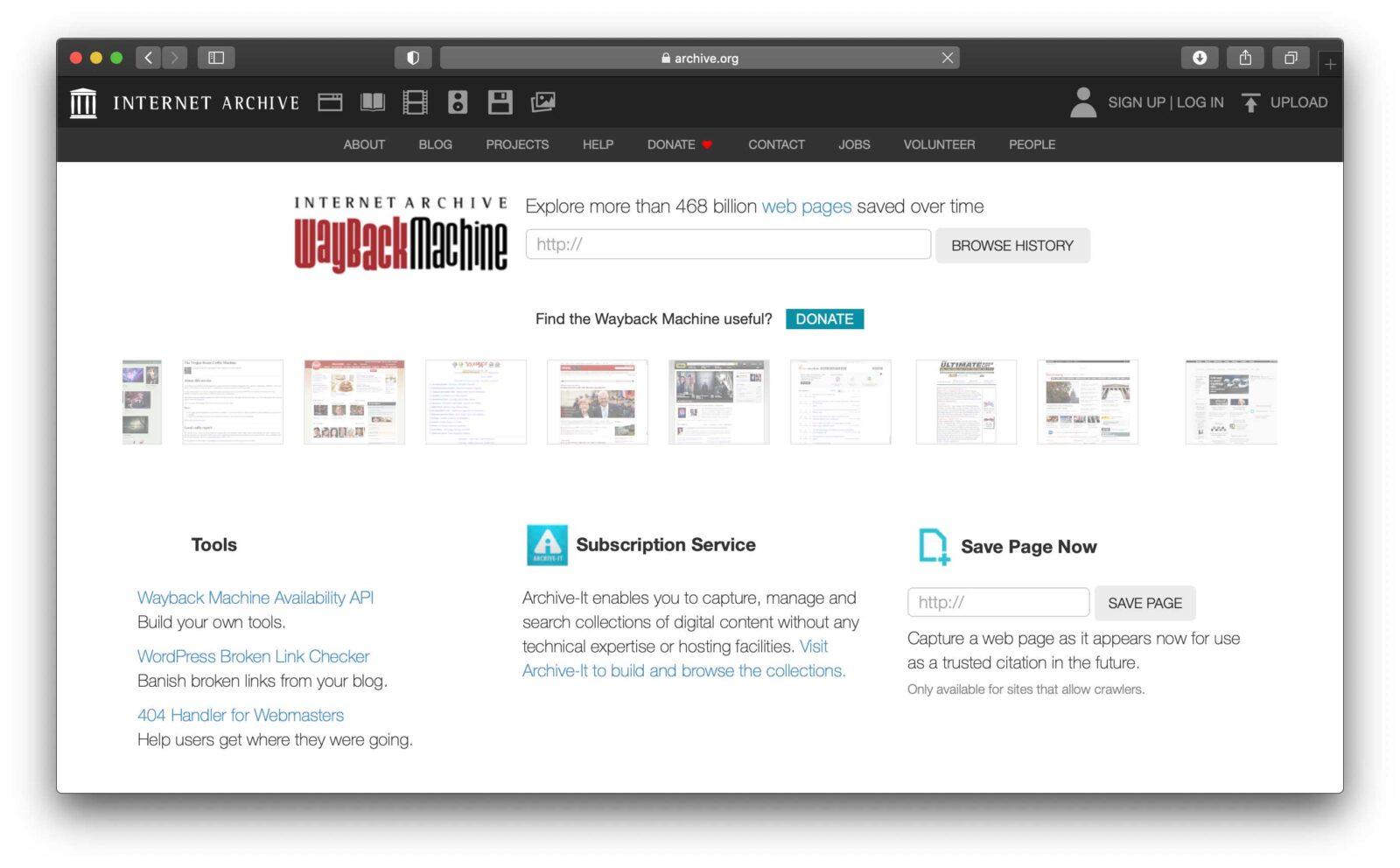 Accordo di Internet Archive con CloudFlare per l'archivio digitale di Wayback Machine
