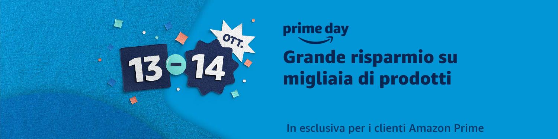 Ufficiale: il Prime Day 2020 sarà il 13 ottobre e il 14 ottobre