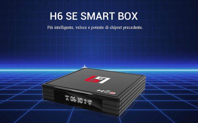 H6SE, il box TV con Android 10 è servito in offerta lampo a poco più di 30 euro