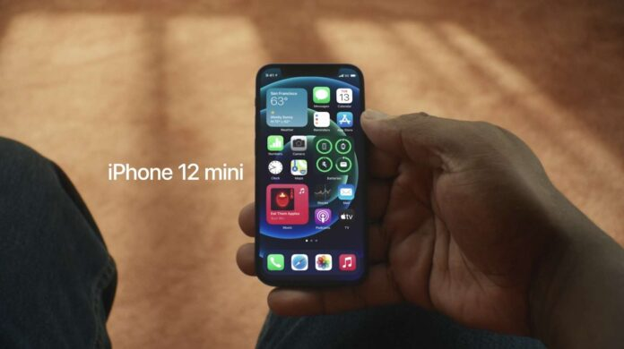 Ecco iPhone 12 mini,