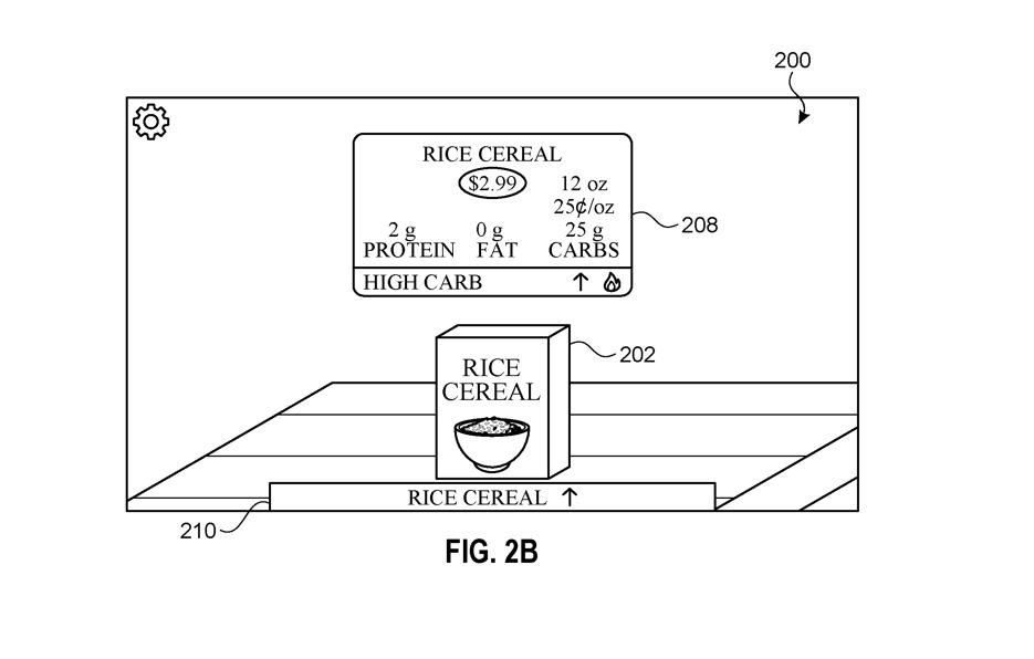 Gli Apple Glass permetteranno di confrontare due oggetti quando si fa shopping
