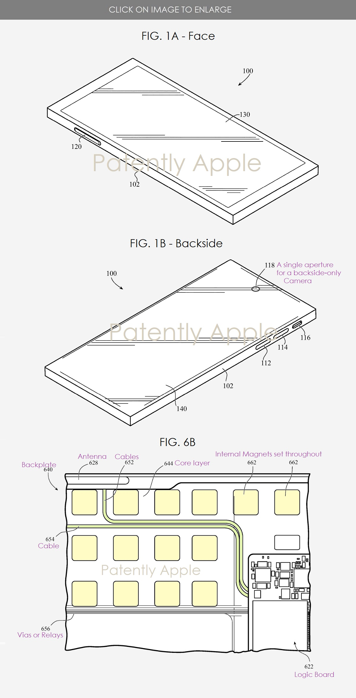 In un brevetto di Apple un iPhone sottile che supporta il Reverse Charging wireless