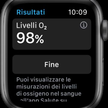 Apple Watch 6, per l'indicatore dell'ossigeno nel sangue non è stata necessaria l'approvazione della FDA