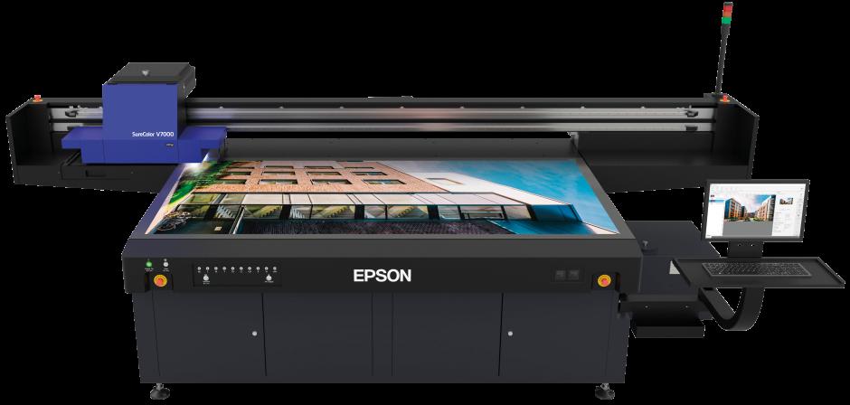 Le novità di Epson per il signage e il tessile
