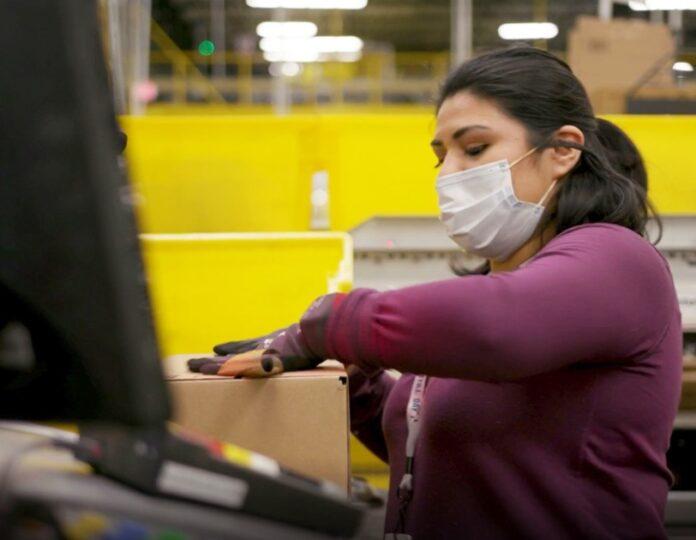 Amazon ora ha 1 milione di dipendenti