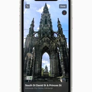 L'app Mappe ridisegnata disponibile nel Regno Unito e in Irlanda