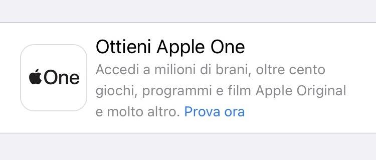 Come abbonarsi ad Apple One da iPhone o iPad