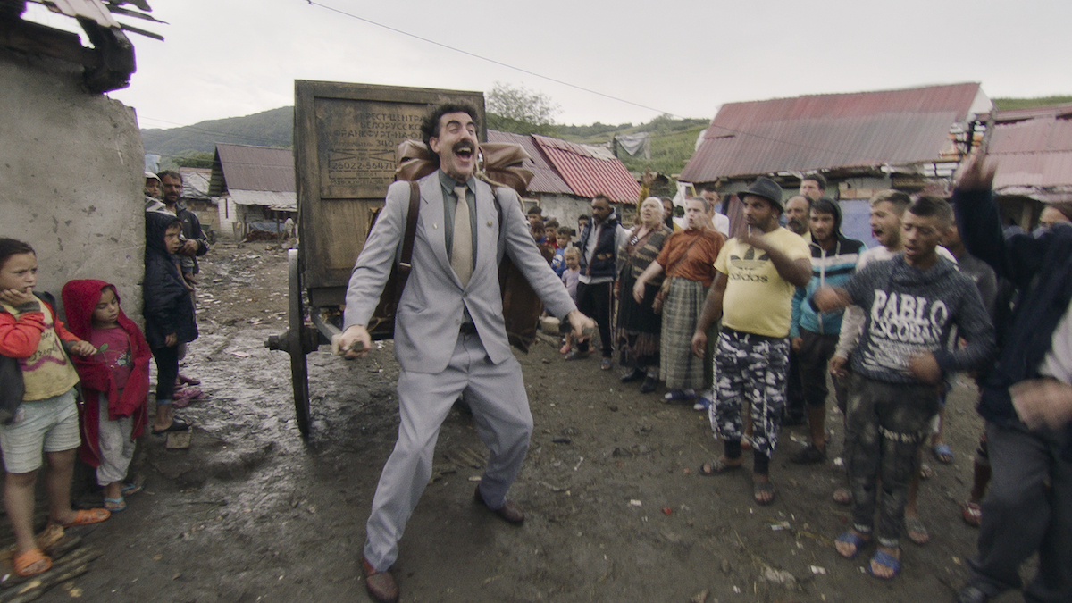 Borat torna indossando la mascherina, dal 23 ottobre su Prime Video