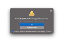 Ad alcuni utenti Mac le stampanti HP segnalano un malware nei driver