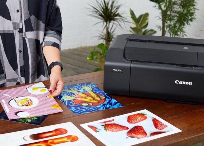 PIXMA PRO-200, la stampante fotografica A3+ per stampare le foto in casa