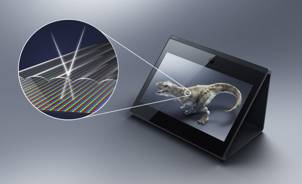 Lo Spatial Reality Display di Sony visualizza oggetti 3D senza occhiali